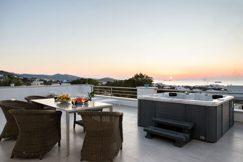 Sunset View - Panos Luxury Villa Sunset View