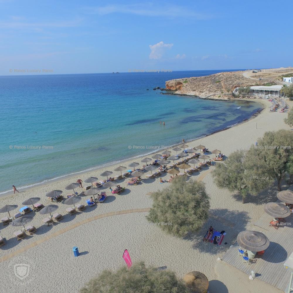 Parasporos Beach in Paros