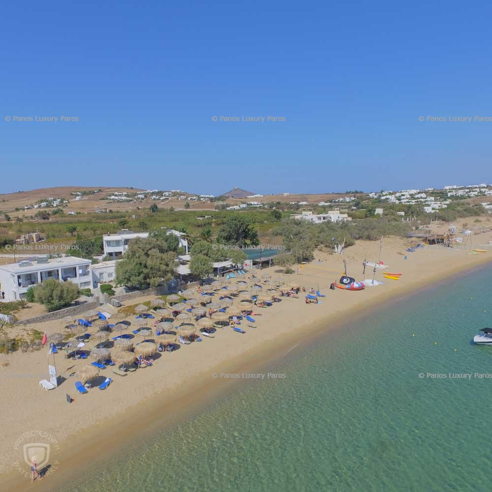 Golden Beach in Paros