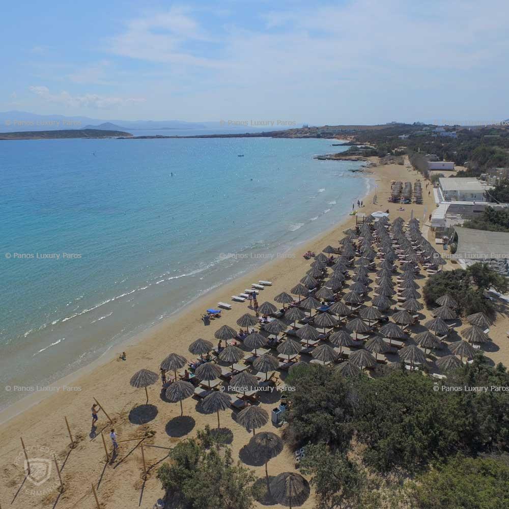 Santa Maria beach in Paros